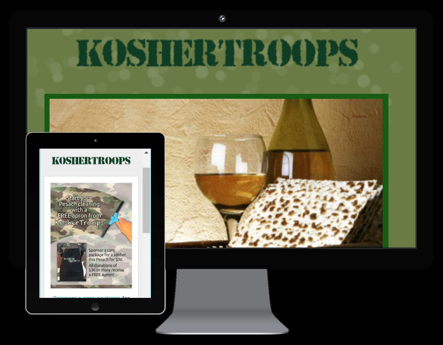 Kosher Troops Emails
